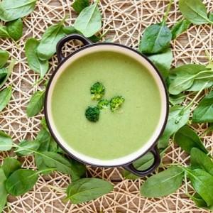 Картофельный крем-суп из брокколи