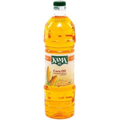Олія кукурудзяна рафінована KAMA 1000мл