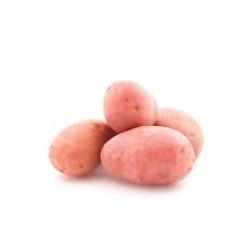 Картофель розовый мытый