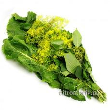 Набір зелені для засолювання (віник)