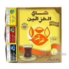 Чай чорний Akbar Alghazaleen Super Pekoe цейлонський середньолистовий 450г з безкоштовними зразками чаю