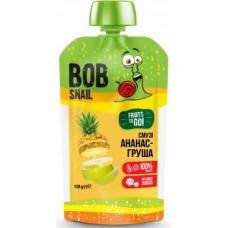 """Смузі """"ананас-груша-яблуко"""" Bob Snail натуральне фруктове 120г"""