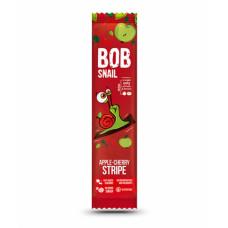 Страйп яблуко-вишня натуральний Bob Snail без цукру 14г