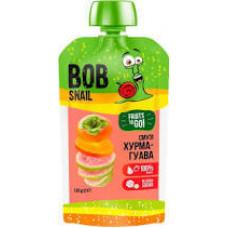 """Смузі  """"хурма-гуава"""" Bob Snail натуральне фруктове 120г"""