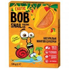 Цукерки мангові натуральні Bob Snail без цукру 120г