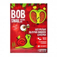 Цукерки яблучно-вишневі натуральні Bob Snail без цукру 120г