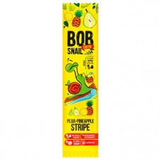 Страйп грушево-ананасовий натуральний Bob Snail без цукру 14г