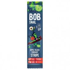 Страйп яблуко-чорна смородина натуральний Bob Snail без цукру 14г