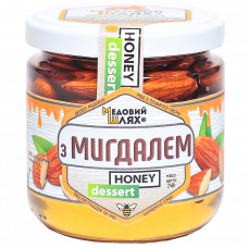 Десерт медовий з мигдалем Медовий шлях 240г