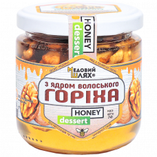 Десерт медовий з волоським горіхом Медовий шлях 240г
