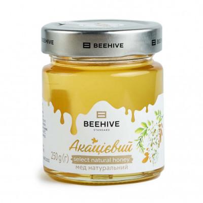 Мед акацієвий Beehive 250г (2020р)