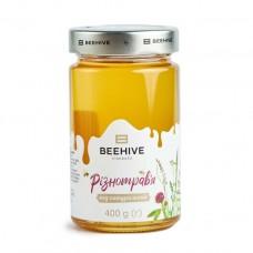 Мед різнотрав'я Beehive 400г