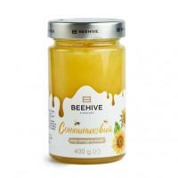 Мед соняшниковий Beehive 400г (2020р)
