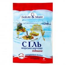 Сіль морська дрібна йодована 600г Salute di Mare