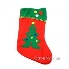 """Шкарпетка подарункова """"Ялинка"""""""